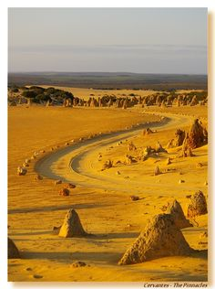 Desert of the Pinnacles - Cervantes, Western Australia