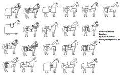 Medieval Horse Saddles