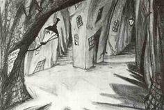 Caligari, dibujo