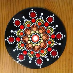 Wood Magnet Hand Painted by Miranda Pitrone by P4MirandaPitrone
