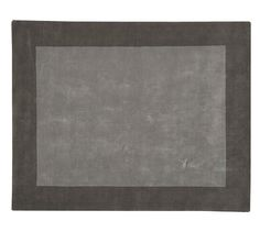 Henley Rug -Large Dark Gray Plush Rug | Pottery Barn