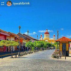 #Follow @tywahlbrink: Calzada #Granada #Nicaragua #ILoveGranada #AmoGranada #Travel