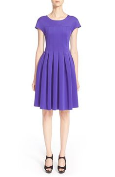 Armani CollezioniJersey Fit & Flare Dress available at #Nordstrom