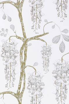 Image of Wallpaper - Wisteria - Pearl