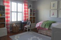 Little girl's room via Laura Leonard Interiors