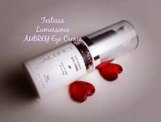 Aubrey Lumessence Kosmetiikkatesti blogissa: Vielä kerran Aubrey silmänympärysvoide