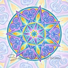Solfeggio Mandala 777Hz, Divine Sound