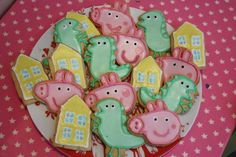 Another one of my sisters creations, good with the Peppa Pig 'hill' cake....