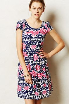 love this dress from anthropologie! those colors are my favorite!!