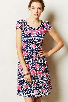 Peralta Flared Dress - anthropologie.com