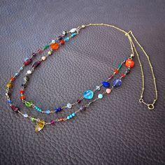 Bead Jewellery, Beaded Jewelry, Handmade Jewelry, Beaded Bracelets, Unique Jewelry, Beaded Choker Necklace, Gemstone Necklace, Gemstone Beads, Candy Necklaces