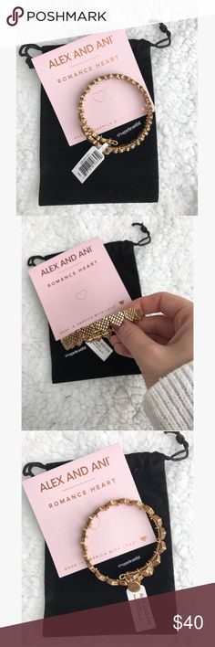 NWT Alex & Ani Romance Wrap Gold ✨Makes a great gift! ✨ New with tags, dust bag, & care card shown • gold finish • One size fits all • ‼️NO TRADES‼️ 💕Bundle for 10% off! 💕 Alex & Ani Jewelry Bracelets