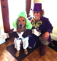 Willy Wonka and an Oompa Loompa: | 11 Perfect Couple Costumes (When Your Pet Is Your Date)