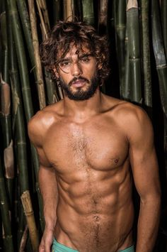 Marlon Teixeira Hits the Beach, Posing in Swimwear for Donna DC