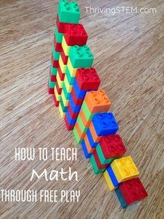Thriving Stem: How to teach math through free play