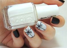 12 Easy Christmas Present Nail Art Designs, Ideas, Trends & Stickers 2014 | Xmas Nails