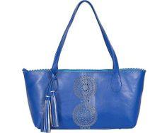 Buco Handbags Small Pinwheel Tote - Royal