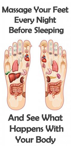 Massaging your feet before going to sleep is critical for your health   The MIRACLE starts here! psoas release massage #massageforhealth