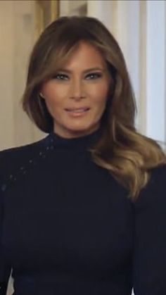 First Lady Melania Trump, Greatest Presidents, First Lady Melania Trump, Victorian Women, Beautiful One, Upper Body, Business Women, Hair Makeup, Classy, Style Inspiration