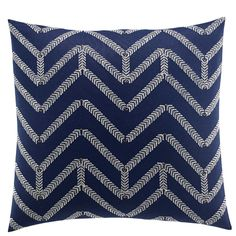 Nautica Brindley Embroidered Pillow