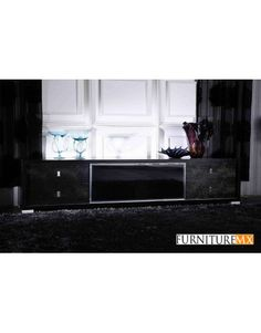Modern White Lacquer TV Stand has a unique modern design that will make your house elegant and stylish. White Lacquer with Stainless Steel Pegs. 2 Sizes Available