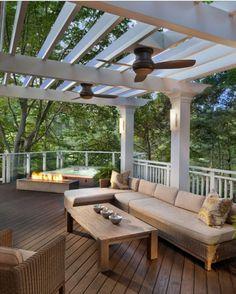pinterest home deck ideas | Deck idea