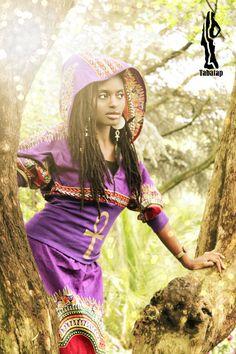 "Tabatap ""LIFE"" hoodie purple dashiki...available on etsy"