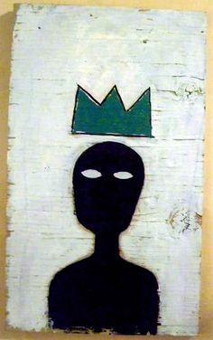 Jean-Michel Basquiat - this reminds me of Christ coming into his kingdom Jean Michel Basquiat, Jm Basquiat, Basquiat Tattoo, Graffiti Kunst, Pop Art, Herbert List, Modern Art, Contemporary Art, Street Art