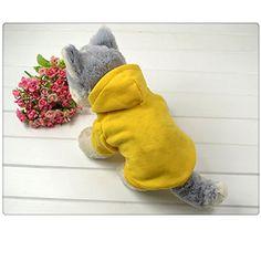 Pet Puppy Dog Cat Coat Clothes Costumes Sport Hoodie Hooded Sweatshirt YBC http://www.amazon.com/dp/B00ME7JUEO/ref=cm_sw_r_pi_dp_zNf.tb14XYHBN