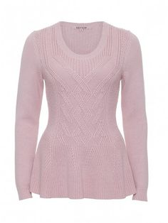 Review Australia | Allina peplum Jumper in Blush Pink. The details of this sweater are su beautiful. Did I mention the colour??? Gorgeous!