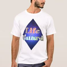 Life Guard T-Shirt - tap, personalize, buy right now!