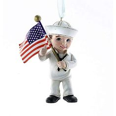 United States Navy Military Kid with US Flag Christmas Ornament New USN * You can find more details by visiting the image link. (This is an affiliate link) Christmas Tree Usa, Diy Christmas Ornaments, Christmas Gifts, Navy Military, Military Gifts, Tree Dazzler, Snow Theme, Felt Snowman, Us Navy Ships