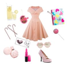 """bubblegum"" by beatrice1990 on Polyvore featuring art"
