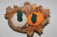 Háčkovaná dýně   Korálky.stoklasa.cz Ikebana, Crochet Earrings, Crochet Hats, Scrappy Quilts, Knitting Hats, Flower Arrangements