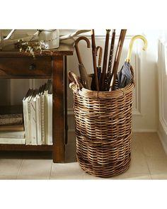 Cute Umbrella Basket #StillRaining