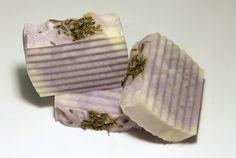 Lavender Petal Bar Soap, Lavender Bar Soap, Natural Bar Soap, Palm Free Soap, Free Shipping Soap, Olive Oil Soap, Lavender Soap, Purple Soap - pinned by pin4etsy.com
