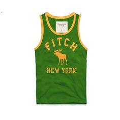 Cheap Abercrombie & Fitch Cotton Vest Mens AFC1075  http://abercrombie-sale.net/