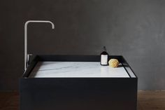 NotOnlyWhite – Scape monolith Beautiful sink units in designer Kitchen & Bathroom this month Potential design option for Lapitec Minimalist Bathroom Furniture, Modern Bathroom, Bathroom Interior, Bathroom Toilets, Bathroom Basin, Bathrooms, Concrete Bathroom, Interior Architecture, Interior And Exterior