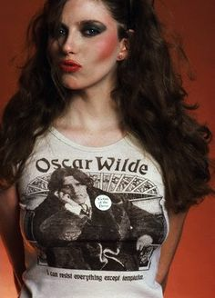 Bebe Buell but I want the tee Off Your Rocker, Bebe Buell, T Shirt Picture, 70s Glam, T Shirt Time, Pat Benatar, Thing 1, Richard Avedon, Jane Birkin