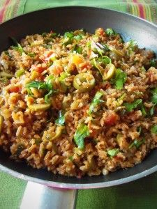 Spicy Mexican Brown Rice