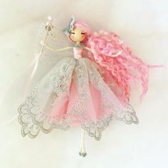 Fairy Crafts, Doll Crafts, Christmas Angels, Christmas Crafts, Fairy Birthday Party, Felt Fairy, Clothespin Dolls, Flower Fairies, Fairy Dolls