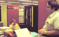 Honeywell 6180 (GE 600-series Multics Computer), 1972 ca.