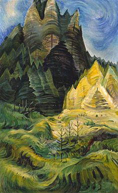 The largest, most comprehensive website on the artist Emily Carr. Searchable database of artworks, biographical and contextual texts, and educational resources for teachers and students. About Emily Carr - The Landscape Tom Thomson, Canadian Painters, Canadian Artists, Carl Blechen, Landscape Art, Landscape Paintings, Emily Carr Paintings, Montreal, Vancouver Art Gallery