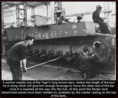 German Tiger Tank Factory | Thread: machining the Tiger