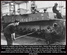 German Tiger Tank Factory   Thread: machining the Tiger