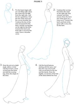 How to Draw Fashion figures:Dover Publications Samples