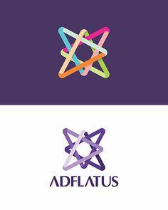 Adflatus, interior design, studio, company, residential, business, hotels, restaurants, real estate, logo design by Alex Tass
