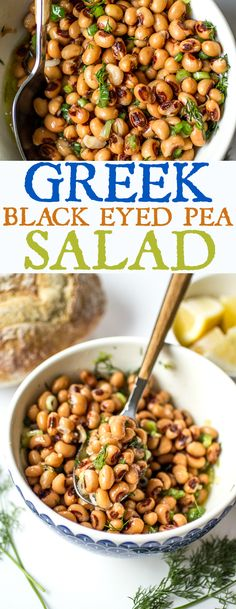 Bright lemon juice, quality olive oil, and fresh dill transform a can of black eyed peas into an inspiring salad!