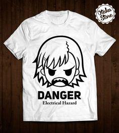 "Anime ""Toaru Kagaku no Railgun / A Certain Scientific Railgun"" t-shirt. Anime DTG print."