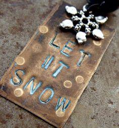 Humblebeads Blog: Ornament Blog Hop - Let It Snow!